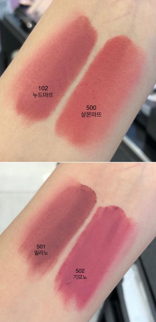 加拿大 Giorgio Armani 阿玛尼 2018 丝绒哑光唇膏新品上市!
