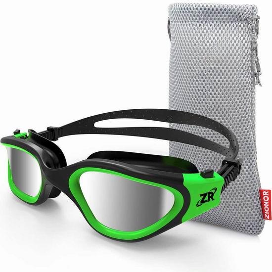 金盒头条:历史新低!ZIONOR 游泳护目镜3折 16.99-19.59加元!24色可选!