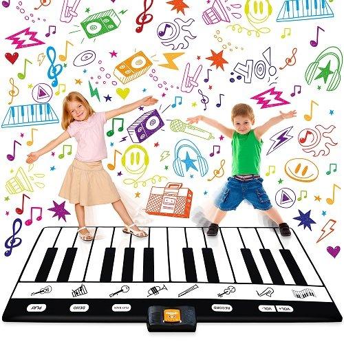 白菜价!历史新低!play22 1.8米 24键 超大电子琴跳舞毯2.6折 28.99加元清仓!