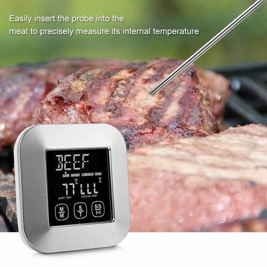 白菜价!历史新低!Magicook 8模式 厨房温度计/测温仪3.3折 11.99加元清仓!