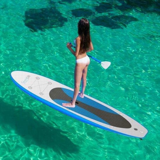SereneLife 10英尺 iSUP 高级充气站立式桨板 8.5折 414.99加元包邮!