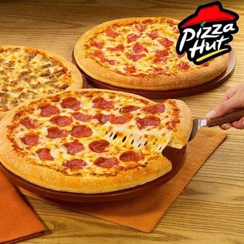 Pizza Hut 必胜客 每周一至周三 大号披萨半价!仅限网店下单、店内自取!