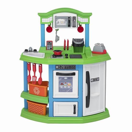 American Plastic Toys Cozy 儿童仿真小厨房4.8折 44.97加元包邮!
