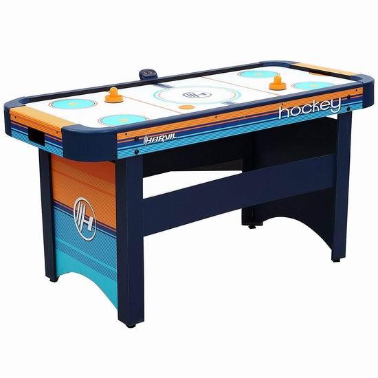超级白菜!Harvil 5英尺 Air Hockey 大型空气冰球游戏桌0.6折 19.99加元清仓!