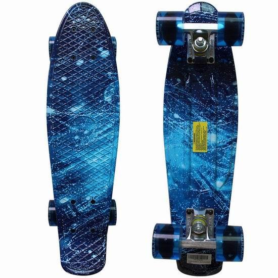 白菜价!Rimable Complete 22英寸 银河星空 滑板 2折 19.99加元清仓!