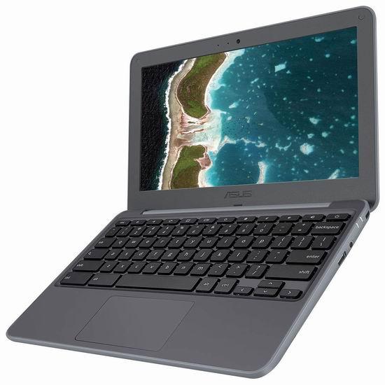 历史最低价!Asus 华硕 Chromebook C202SA-BB01-CB 11.6英寸 Rugged 加固笔记本电脑 199.99加元包邮!