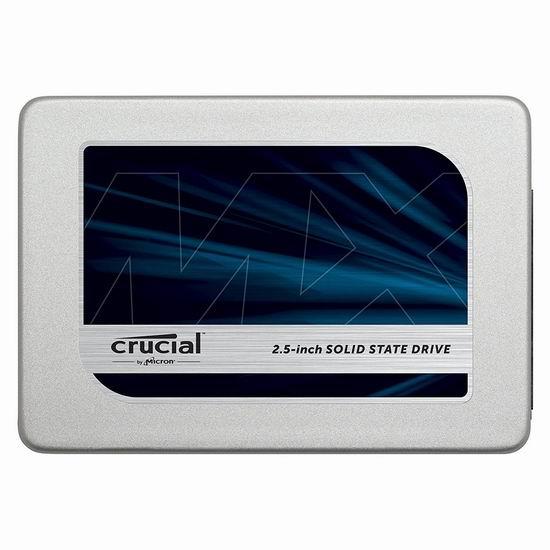 手慢无!Crucial 英睿达 MX300 525GB 2.5寸 固态硬盘5.4折 107.87加元包邮!
