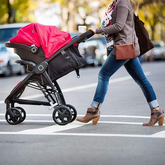 历史新低!Safety 1st Step and Go 2 婴儿推车+提篮套装5折 200加元包邮!2色可选!