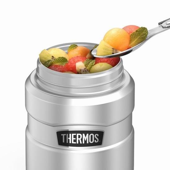 销量冠军!THERMOS 膳魔师 450ml 经典帝王 不锈钢午餐保温焖烧罐 22.99加元!