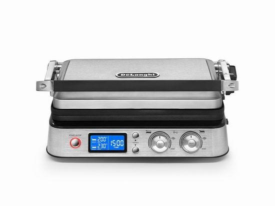 DeLonghi 德龙 CGH1030D 七合一 Livenza 陶瓷涂层 电烤炉/电扒炉 278.66加元包邮!
