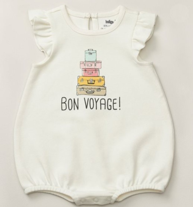 精选 IndigoBaby婴儿字母连体衣、玩具、妈咪包、睡衣、婴儿鞋 7折 7加元起!