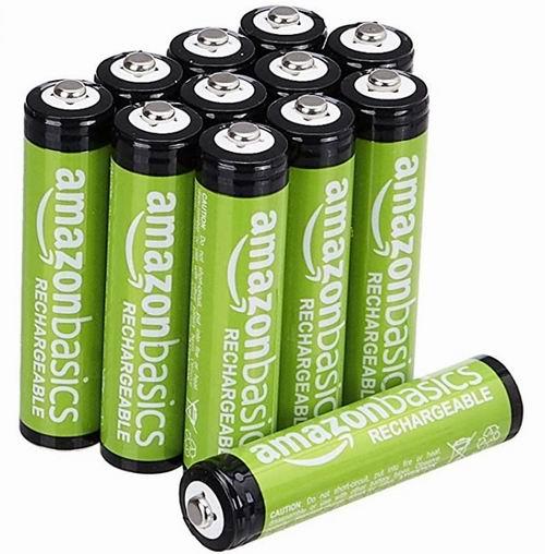 AmazonBasics AAA 800 mAh 可充电镍氢电池12只装 7.8折 13.29加元!