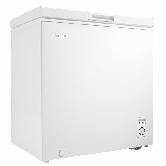 历史最低价!Danby Diplomat DCFM050C1WM 5.0 cu. ft. 白色冰柜 224.97加元包邮!