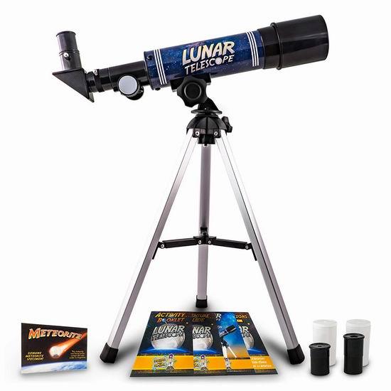 Discover with Dr. Cool 儿童月球 天文望远镜 43.99加元限量特卖并包邮!送陨石样本!