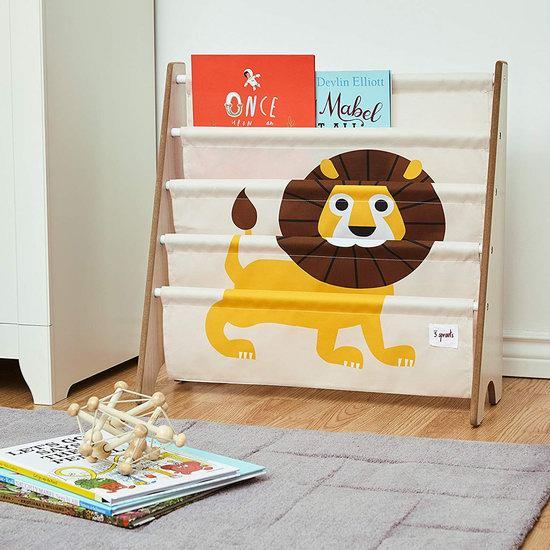 历史新低!3 Sprouts 小狮子 儿童4层布艺书架 29.96加元!