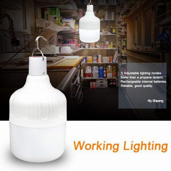 LeTour 可充电 可调光 60瓦等效 LED照明灯 16.69加元限量特卖!