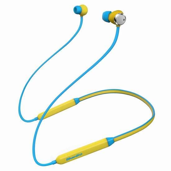金盒头条:历史新低!Bluedio 蓝弦 TN (Turbine)  蓝牙4.2 主动降噪 运动耳机 20.69加元!2色可选!
