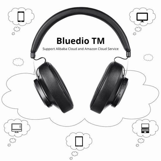 金盒头条:历史新低!Bluedio 蓝弦 TM 蓝牙5.0 头戴式耳机3.7折 23.99加元!3色可选!