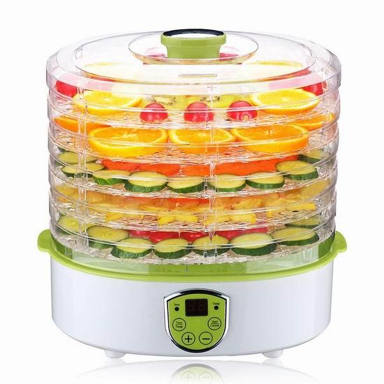 PowerDoF 家用食物烘干脱水机/干果机 56.09加元限量特卖并包邮!