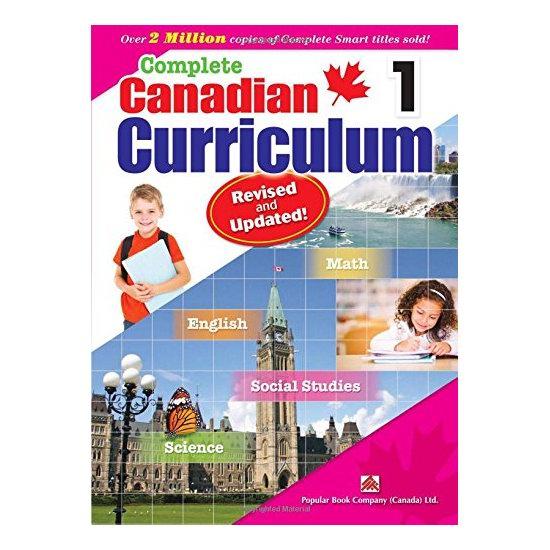 修订版《Complete Canadian Curriculum》各年级课外练习册 12.92加元起!