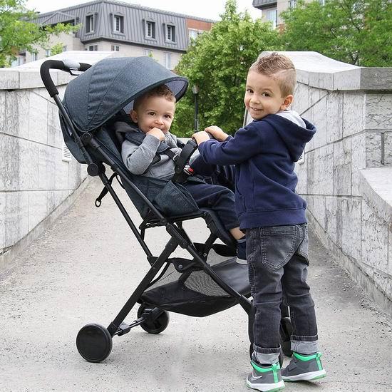 Bily BCS330HG 超轻婴儿推车5.8折 84.97加元包邮!