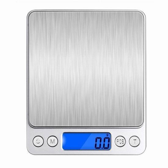 VersionTech 时尚不锈钢厨房秤 15.18加元限量特卖!