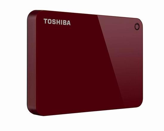金盒头条:历史新低!Toshiba 东芝 HDTC920XR3AA Canvio Advance 2TB 超便携移动硬盘 74.99加元包邮!