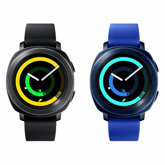 历史新低!Samsung 三星 Gear Sport 智能手表4.9折 198加元包邮!2色可选!