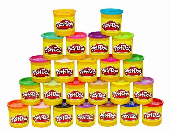 Play-Doh 培乐多 橡皮彩泥24色超值装3.7折 14.71加元!