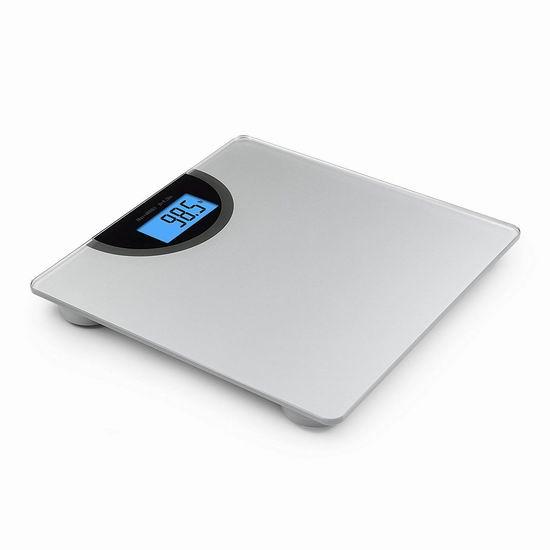 历史新低!BalanceFrom 高精度数字电子体重秤4.2折 12.3加元!