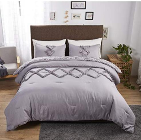 Felicite Home 床上用品 3件套 29.49加元限量特卖,原价 49.99加元