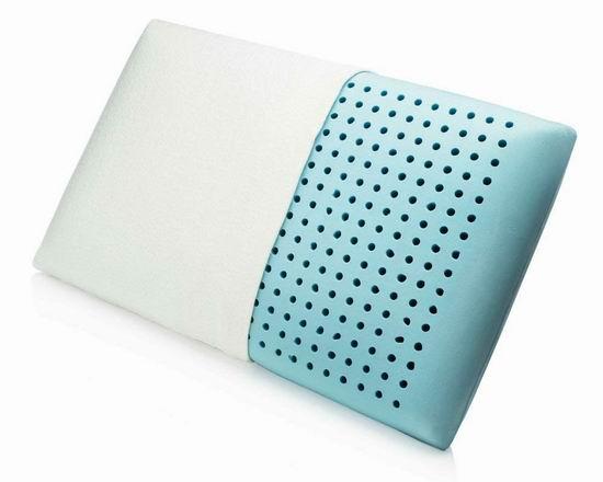 MemorySoft 豪华冷凝胶记忆海绵枕头 34.99加元限量特卖并包邮!