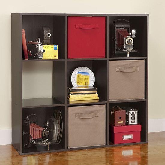 白菜补货!ClosetMaid 8937 Cubeicals 9格 深咖啡色收纳柜 40加元清仓并包邮!