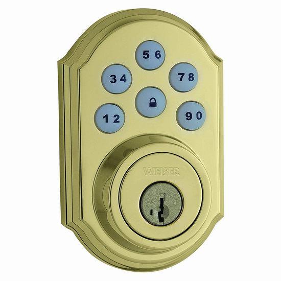 历史新低!Weiser SmartCode 5 电子密码门锁5折 84.49加元包邮!