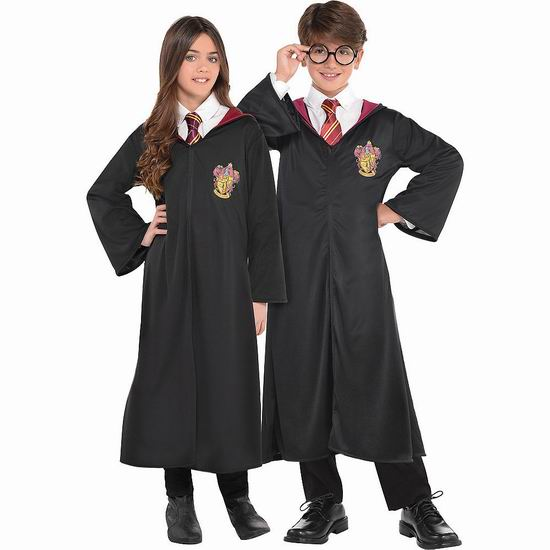 金盒头条:精选多款 Harry Potter 哈利波特系列 万圣节儿童服饰5.7折起!售价低至11.43加元!