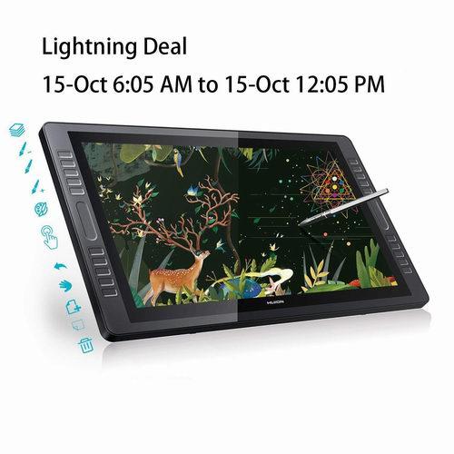 HUION 绘王 GT-221PRO 21.5英寸大屏高清 手绘屏/专业数字绘画屏 577.27加元限量特卖并包邮!