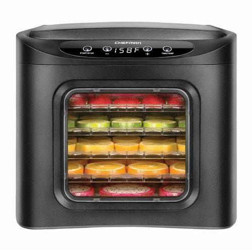 金盒头条:Chefman 九层食物烘干脱水机/干果机 119.99加元,原价 199.99加元,包邮