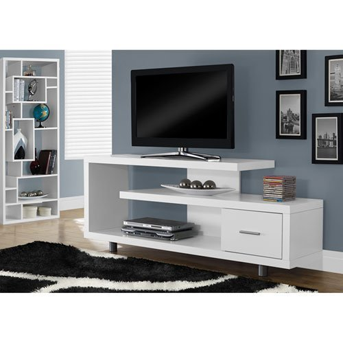 Monarch Specialties I 2573 60英寸时尚电视柜 161.97-184.97加元包邮!3色可选!