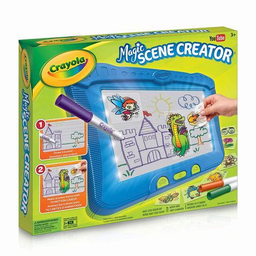 Crayola 绘儿乐 Magic Scene神奇魔法画板 22.39加元,原价 27.99加元