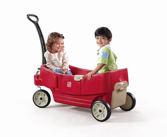 Step2 All Around Wagon 双人儿童拖车 89.97加元包邮!会员专享!