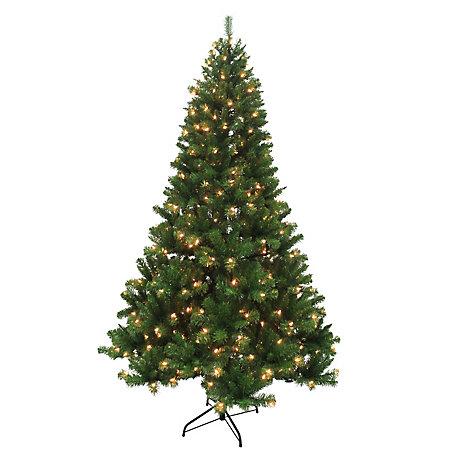 手慢无!Home Accents 7.5英尺圣诞树+400 LED灯 49.98加元!