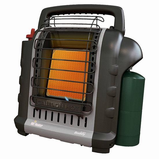 历史新低!Mr. Heater F232017 MH9BXRV 便携式燃气红外加热取暖器 95.7加元包邮!