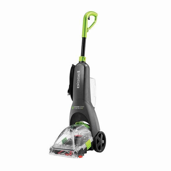 历史新低!Bissell 必胜 Powerclean Turbobrush 2085C 宠物版 深层地毯清洗机6.3折 99.99加元包邮!