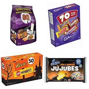 金盒头条:精选多款万圣节糖果7折起特卖!售价低至1.98加元!