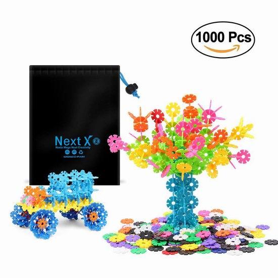 NextX 儿童堆叠积木(1000PCS) 13.99加元!