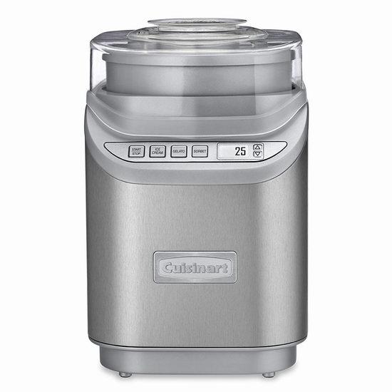 网购周专享:Cuisinart ICE-70C 多功能家用冰淇淋机 114.38加元包邮!