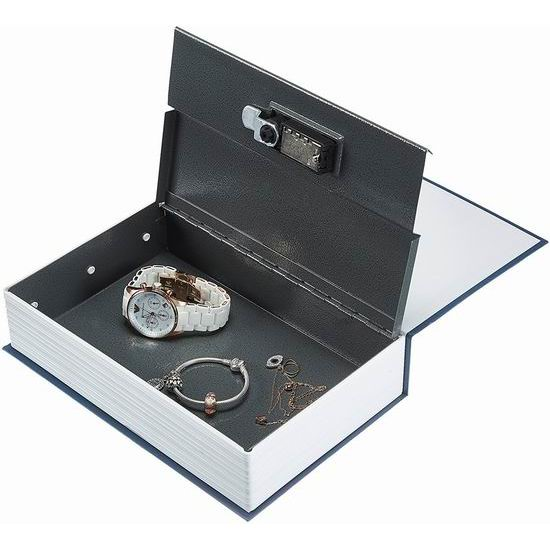 AmazonBasics 创意英文字典 书本型 金属密码保险箱 11.56加元!