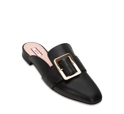 时髦百搭的网红鞋!Bally Janelle方扣乐福鞋、穆勒鞋 全场6折优惠,入唐嫣同款!