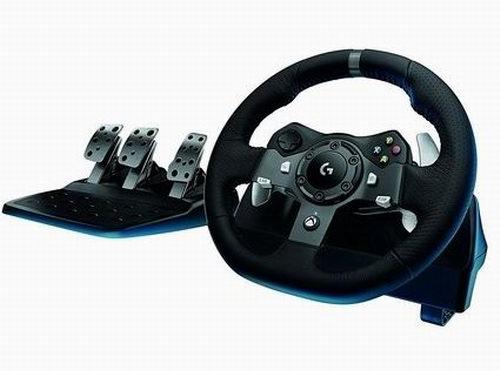 Logitech G920 赛车游戏方向盘+踏板套装 349.98加元包邮!