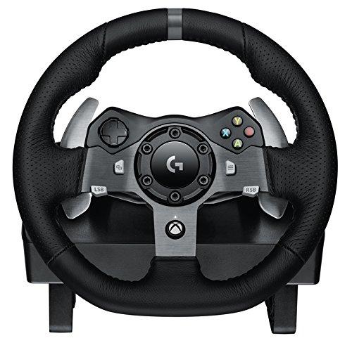 Logitech G920 赛车游戏方向盘+踏板套装 299.98加元,原价 349.99加元,包邮